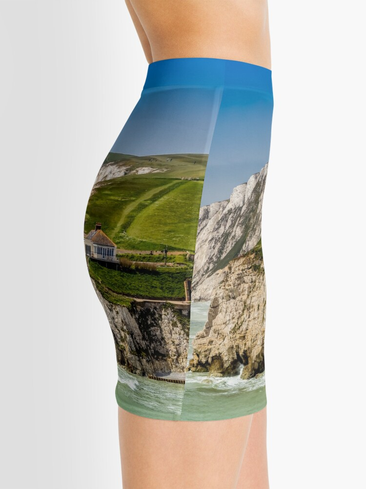 Alternate view of Fort Redoubt Freshwater Bay Isle Of Wight Mini Skirt