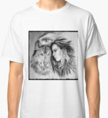 Wolf & Huntress.. The All Seeing Eye Classic T-Shirt
