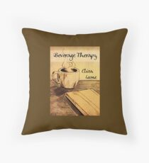 Beverage Therapy Throw Pillow