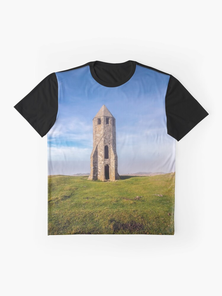 Alternate view of St Catherines Oratory The Pepperpot Graphic T-Shirt
