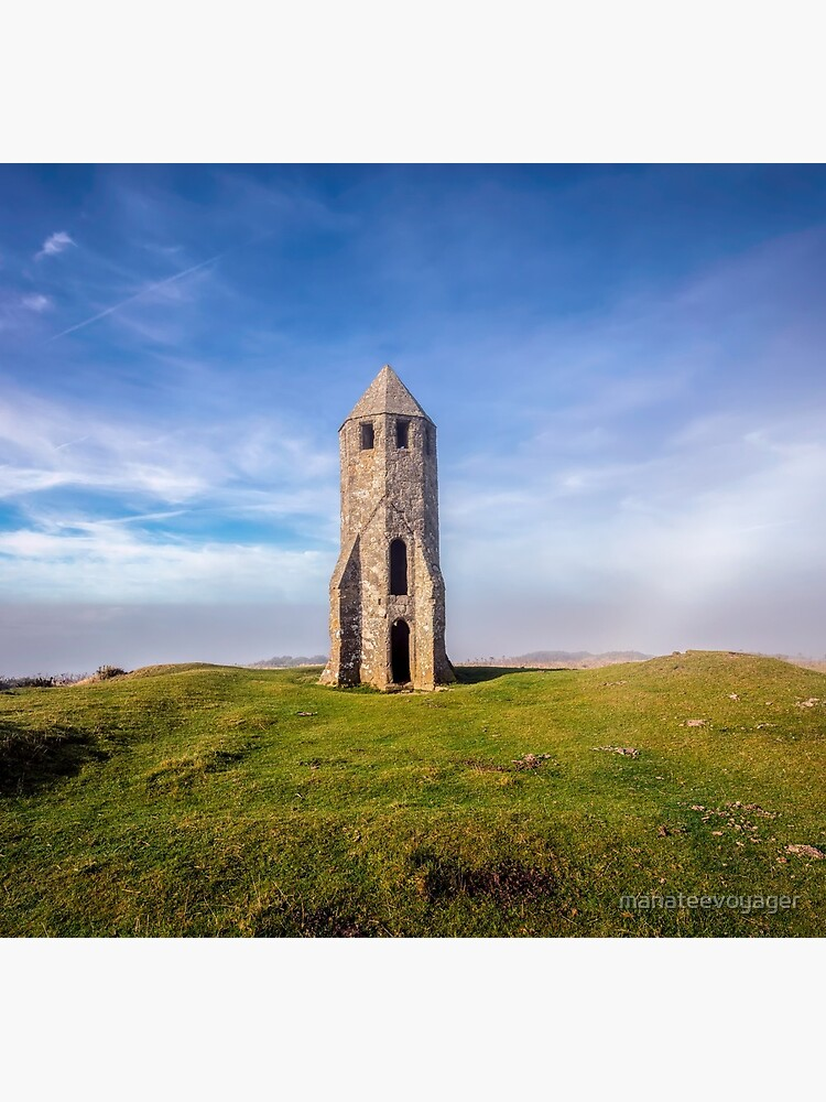 St Catherines Oratory The Pepperpot by manateevoyager