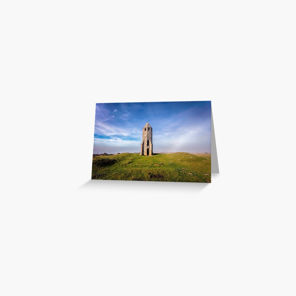 St Catherines Oratory The Pepperpot Greeting Card