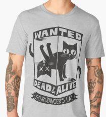 The Flash (Cisco's shirt) - Wanted Dead and Alive (Scrödinger's Cat) Men's Premium T-Shirt