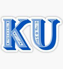 University of Kansas Sticker Sticker