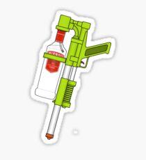 Vodka Water Gun Sticker