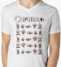 Cup Head! Men's V-Neck T-Shirt
