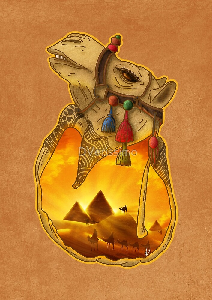 Guardians of the Pyramids by DVerissimo