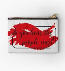 Do You Hear The People Sing?  Studio Pouch
