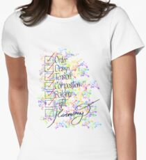 George's Elements (Sunday in the Park) Women's Fitted T-Shirt