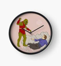 Kirk vs Gorn Clock