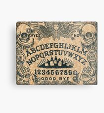 Angel of Death Ouija Board Metal Print