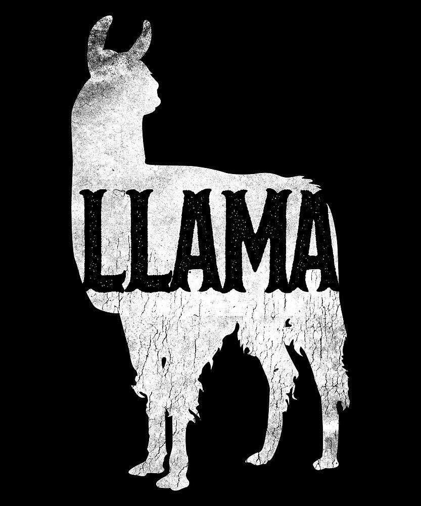 Love Cute Llama, Wildlife Spirit Animal by roarr