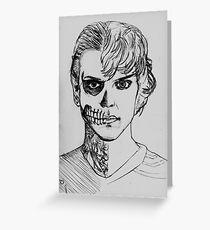 Tate - darkness sketch Greeting Card