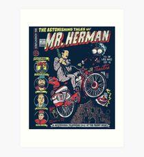 Mr. Herman Art Print