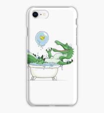 Paleo Kids- Suchomimus with Sawyer iPhone Case/Skin