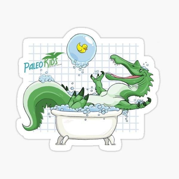 Paleo Kids- Suchomimus with Sawyer Sticker