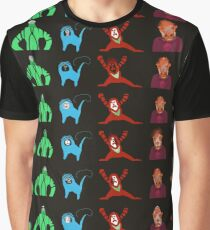Sticker Sheet Graphic T-Shirt