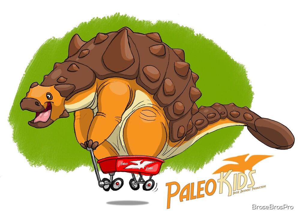 Paleo Kids-Ankylosaur Paleo Flyer with Lenny by BroseBrosPro