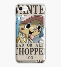 Wanted4 iPhone Case/Skin
