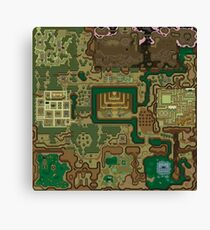 A Link To The Past Dark World Map.A Link To The Past Wall Art Redbubble