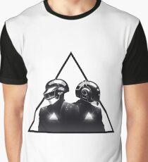 Daft Punk Logo Graphic T-Shirt