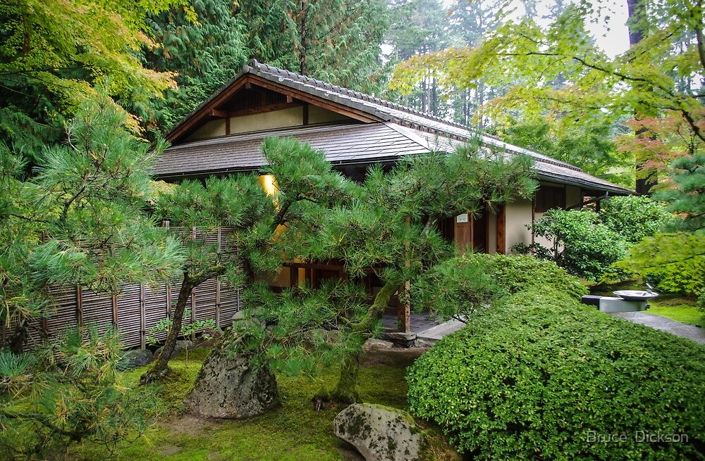 japanese garden 3 by Bruce  Dickson