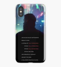 Baseline Test Blade Runner 2049 iPhone Case/Skin