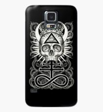 Illuminati Skull and Sulphuric Cross Case/Skin for Samsung Galaxy