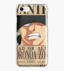 Wanted3 iPhone Case/Skin