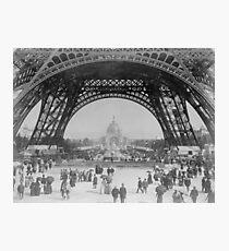 Eiffel Tower - World's Fair 1889  Photographic Print