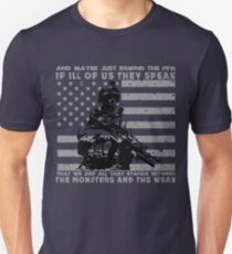 The Monsters And The Weak - US Army Veteran T-Shirt