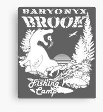 Baryonyx Brook Canvas Print
