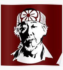 Mr Miyagi from The Karate Kid Poster
