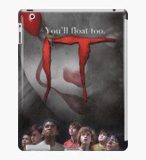 IT Pennywise Clown movie iPad Case/Skin