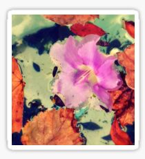 Floral Abstract Sticker