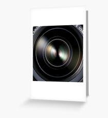 Canon DSLR Camera EOS Lens Greeting Card