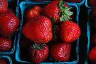 Strawberries by John Schneider