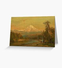 Indians of the Northwest by Thomas Hill Greeting Card