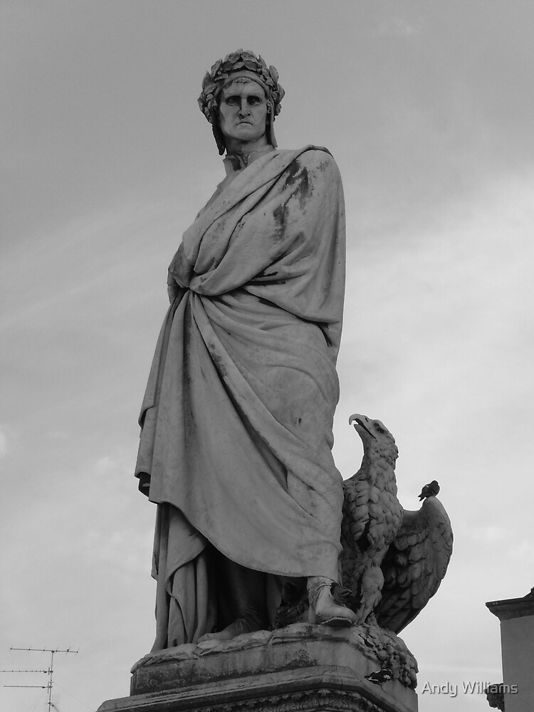 Roman Statue, Florence, Italy by Andy Williams
