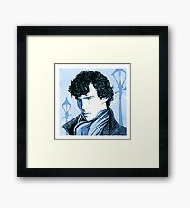 221B Supersleuth Framed Print