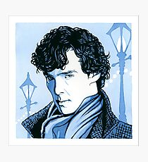 221B Supersleuth Photographic Print
