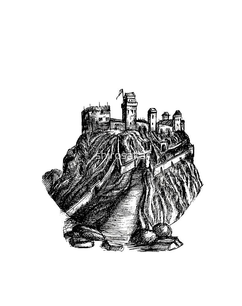 Edinburgh Castle by shirosakar