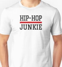 Hip Hop Junkie Golden Era Rap Music Unisex T-Shirt
