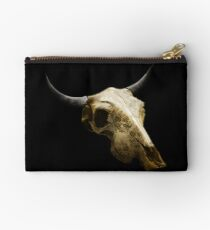 Royal Texture Cow Skull Design v.9  Studio Pouch