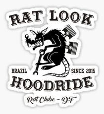 RAT LOOK & HOODRIDE 1 Sticker