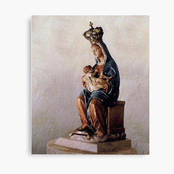 Our Lady of La Leche (side view) Canvas Print