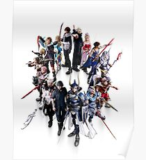 Dissidia Final Fantasy NT - Heroes Poster