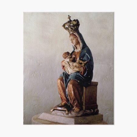 Our Lady of La Leche (side view) Art Board Print