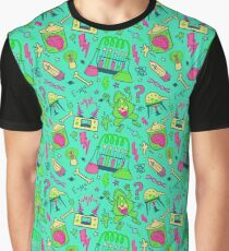 Mad Science in Teal Graphic T-Shirt