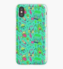 Mad Science in Teal iPhone Case/Skin
